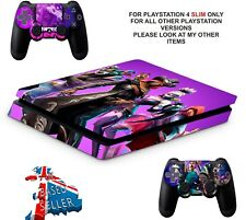FORTNITE SEASON 6 PS4 SLIM**TEXTURED VINYL ! **PROTECTIVE SKINS DECALS WRAP