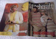 ORIGINAL, VINTAGE, STITCHCRAFT MAGAZINE,  JUNE 1969