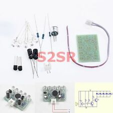DIY Electronic Kit - Sound activated high brightness blue LED flasher Music