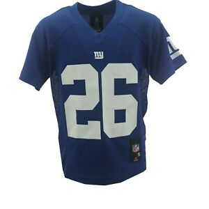 New York Giants Saquon Barkley Official NFL Nike Youth Kids Size Jersey New Tag