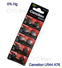 Genuine Camelion  LR44 AG13 L1154 SR44 357 Batteries x100 pcs, FREE POST
