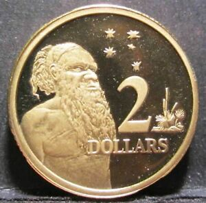 1994 Australia $2 Two Dollar #SP94-200-01 =PROOF supplied in a 2x2=