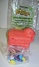 1993 McDonald's Toy Flintstones house with Pebbles and Dino