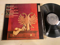 Eugene Ormandy Beethoven Mozart LP Columbia 6 Eye Mono 1950's Deep Groove EX!!!