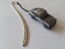 Honda S800 Coupe ref98 FULL CAR on a Pattern bookmark with cord