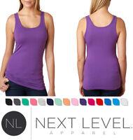 Next Level 3533 Womens Spandex Jersey Tank Top Shirt New S M L XL XXL