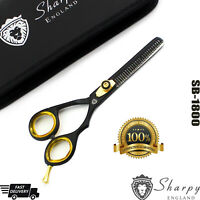 """5.5"""" Professional Hair Cutting Scissors Thinning Shears Hairdressing Black Pro,"""