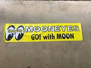 Mooneyes Workshop Vinyl Banner
