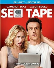 Sex Tape CAMERON DIAZ BLU RAY ONLY W/COVER ART USED VERY GOOD
