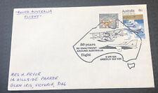 Australia Fdc 1974 50yrs Re-Enactment Around Australia Flight