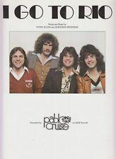 Je vais à Rio-Pablo Cruise - 1977-Sheet Music