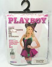 Playboy Sparkle Witch Adult Costume Sexy  Halloween Wicked Cute Fancy 2-6