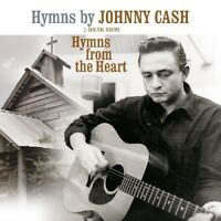 JOHNNY CASH - HYMNS/HYMNS FROM THE HEART   VINYL LP NEW!
