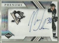 2010 10-11 PANINI LIMITED PHENOMS ROOKIE AUTO PENGUINS NICK JOHNSON #218 128/299