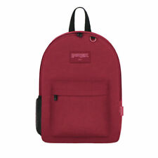 EAST WEST USA East West U.S.A. Simple Backpack Burgundy Color,FREE SHIPPING