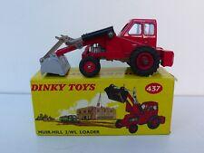 DINKY TOYS ENGLAND  MUIR-HILL  2/WL LOADER  REF 437  BOITE D'ORIGINE BEL ÉTAT