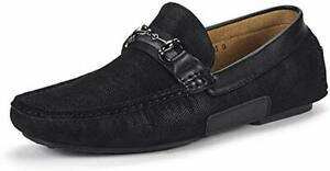 Men's Penny Loafers Moccasins Shoes Casual Leather Lined Slip On Driving Shoes