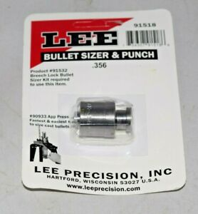 Lee Bullet Sizer and Punch .356 91518
