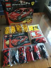 LEGO Racers Ferrari F430 Challenge 1:17 (8143) - aus Sammlung - 100% vollst.