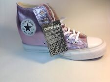Converse, 556779C, Hidden Platform, Wedge, Pink/fuschia, Women's Size 8.5 Shoes