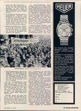 Heuer-CAMARO - 1969-ADVERTISING-ADVERTISING-Genuine Advert-la Publicité-NL-shipping trade