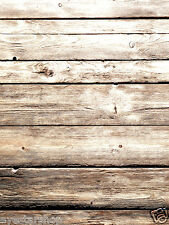 LB Retro Wood Floor Vinyl Photography Backdrop Background studio prop 5X7FT ZZ28