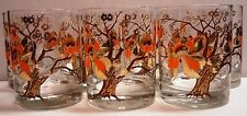 Culver - Asian - Lotus Tree - Flower/Blossom - Rare Pattern - Old Fashioned/Rock