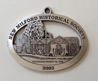 Elijah Boardman House New Milford Historical Society Pewter Medallion
