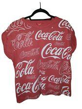 Coca-Cola t-shirt - Womens - Size 16 - Short Sleeve
