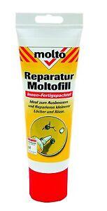 Molto Moltofill Reparatur für Innen, weiß Molto Fill. 330 g Fertigspachtel.