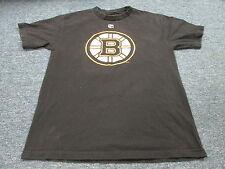 REEBOK NHL BOSTON BRUINS JAROME IGINLA BLACK JERSEY T-SHIRT SIZE M