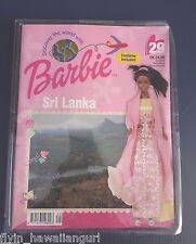 DISCOVER THE WORLD WITH BARBIE DOLL COSTUME CLOTHES #29 SRI LANKA SEALED