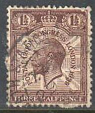 Great Britain Sg436 Postal Union Congress 1929 Three Halfpence Stamp