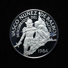 1984 20 Balboa Coin of The Republic of Panama with Coa no box (otx301)