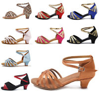 Brand New Ballroom heeled Latin Dance Shoes for Women/Children/Girls/Tango&Salsa