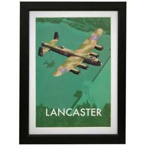 RAF Lancaster framed art print Military Heritage Royal Air Forces Association