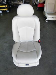 Mercedes Benz E500 W211 Right Front Leather Seat White Cream '02-09 OEM