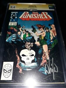 Punisher #12 CGC SS 9.4 (NM) - 1988 - signed by Wilce Portacio cover artist