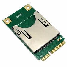 Mini PCI-E Express pcie to SD SDHC MMC Memory adapter Card Converter Reader