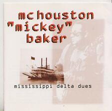 MC HOUSTON  BAKER  CD  MISSISSIPPI DELTA BLUES