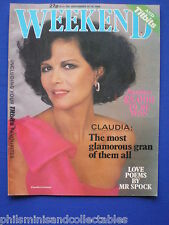 Weekend Magazine - Claudia Cardinale, Leonard Nimoy, Ray Moore   12th  Sep 1984
