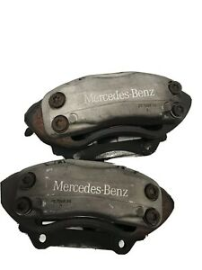 MERCEDES-BENZ W220 S430 S500 S55 AMG LEFT RIGHT FRONT BREMBO CALIPERS W/LINE
