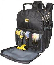 75-Pocket Tool Bag Backpack Electrician Technician Mechanics Storage Organizer