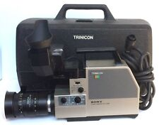 Sony Trinicon HVC-2400 Professional Colour Camcorder W/ Case Video Camera