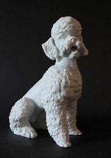 Ak emperador porcelana figura, perro, caniche, de w. gawantka, utilizada firmado