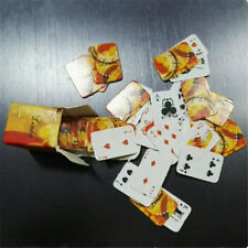 2 Sets 1:12 Miniature Poker Playing Card Dollhouse Scale Toy Accessories Decor