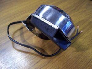 12 V Car Van Boat Horn Electric Klaxon Loud Stainless