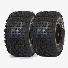 PAIR OF (2) TRAXION RACER XC SPORT ATV REAR TIRES 20x11x9 20x11-9 20x10-9 RAZR 2