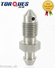 "3/8""x24 UNF Stainless Steel Bleed Nipple - Brake Caliper Drum Slave Cylinder"