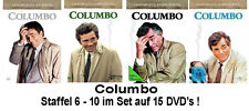 15 DVDs * COLUMBO - SEASON /  STAFFEL  6 -10 IM SET # NEU OVP +